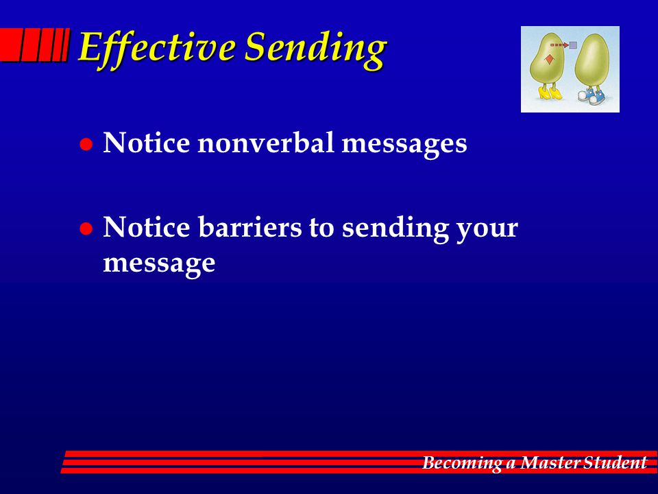 Effective Sending Notice nonverbal messages