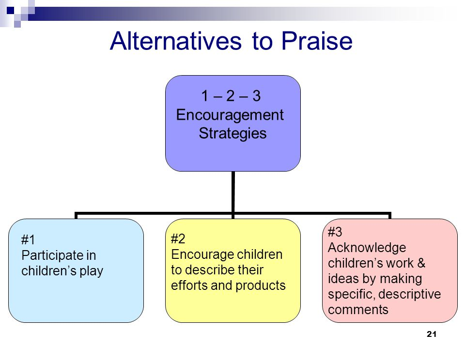 Alternatives to Praise