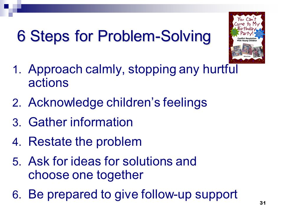 6 Steps for Problem-Solving