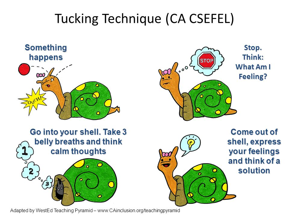Tucking Technique (CA CSEFEL)