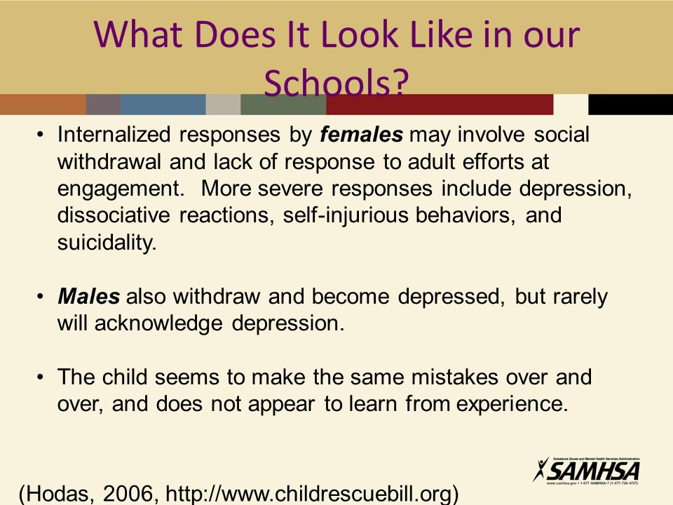 What Does It Look Like in our Schools