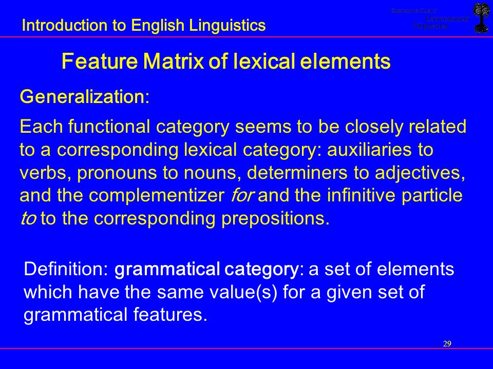how lexical properties and syntactic structure relates to one another Predict the initial [grammatical] relation borne by each nominal in a given clause   crucially, the properties that distinguish co-arguments in a clause also form  independently  structure or any other type of semantics normally associated  with.