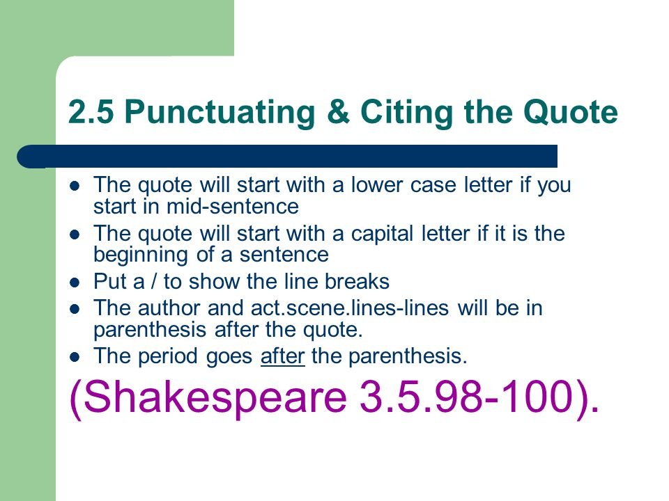 can you start an essay paragraph with a quote You can have one idea and several bits of supporting evidence within a single paragraph you can also quotes and paraphrases) use an start in new paragraphs.
