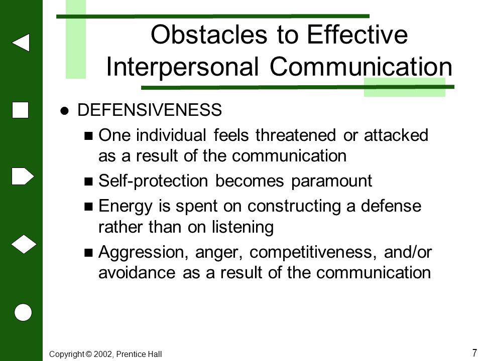 Obstacles to Effective Interpersonal Communication