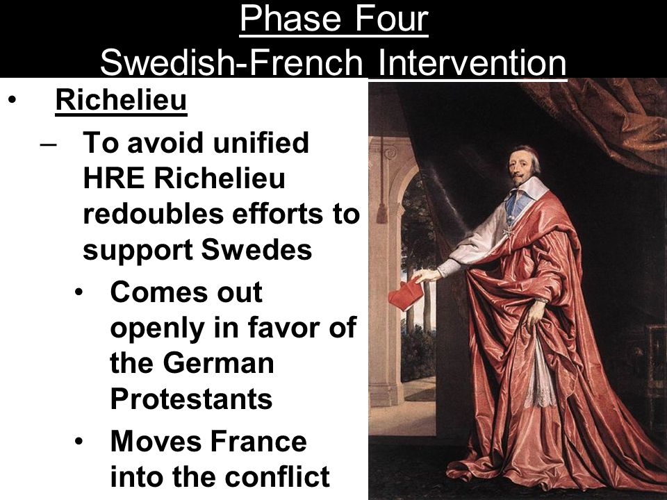 Phase Four Swedish-French Intervention