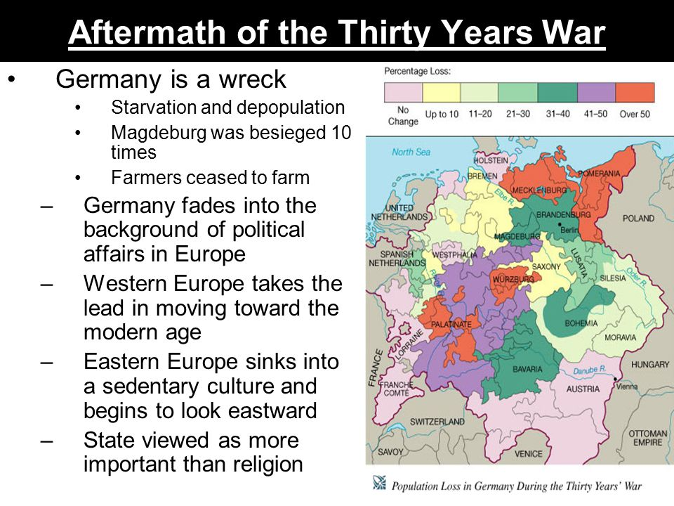 The Thirty Years War The Disintegration Of Germany - Map germany thirty years war