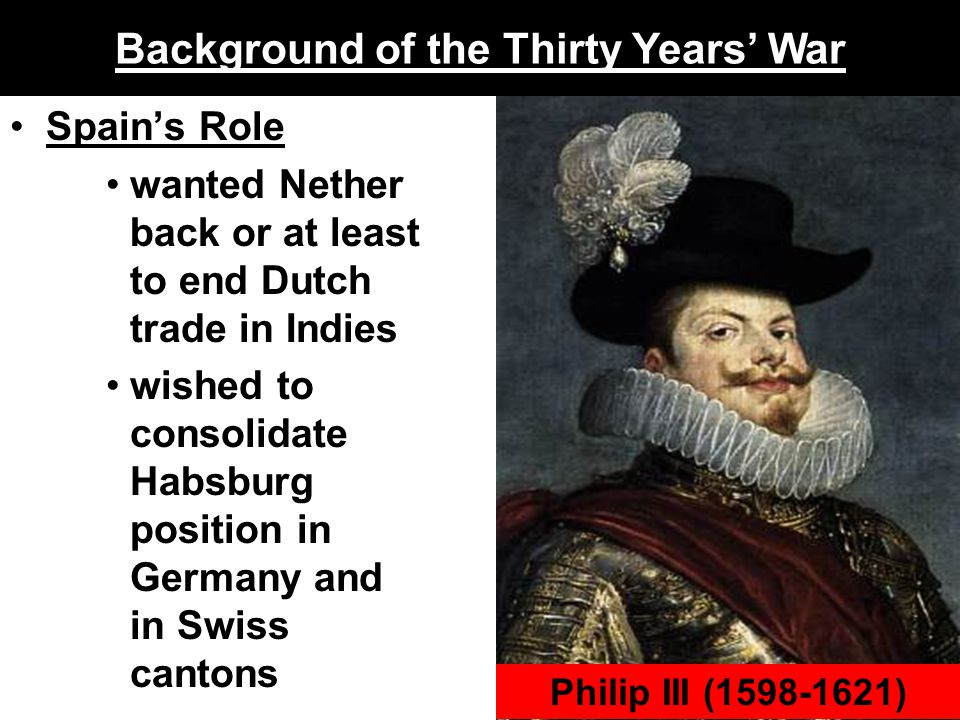 Background of the Thirty Years' War