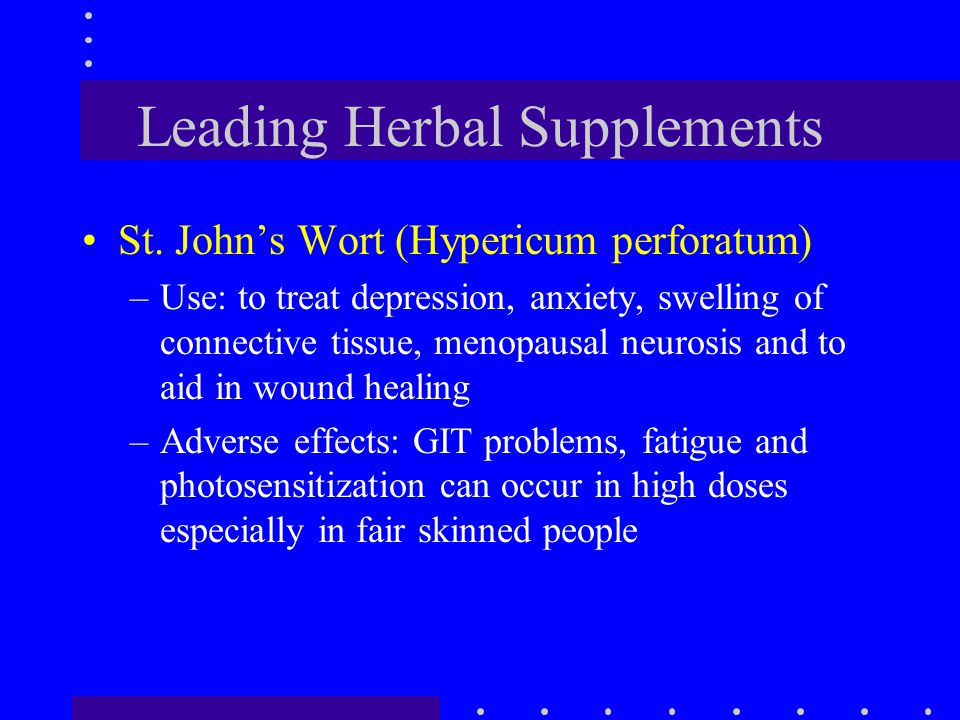 Leading Herbal Supplements