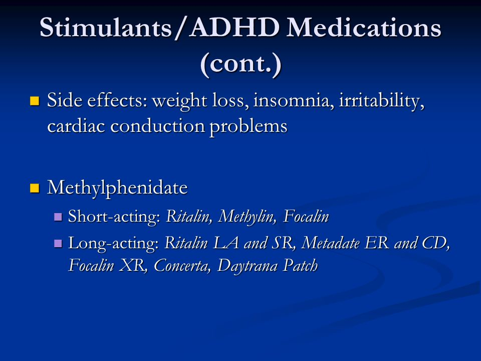 adhd stimulant medication Add medications which adhd medication is best add stimulants, nonstimulants & more vyvanse ritalin concerta adderall strattera and myriad others.