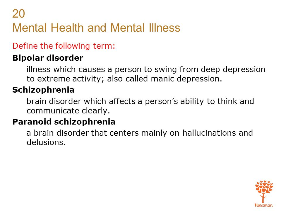 Define the following term: