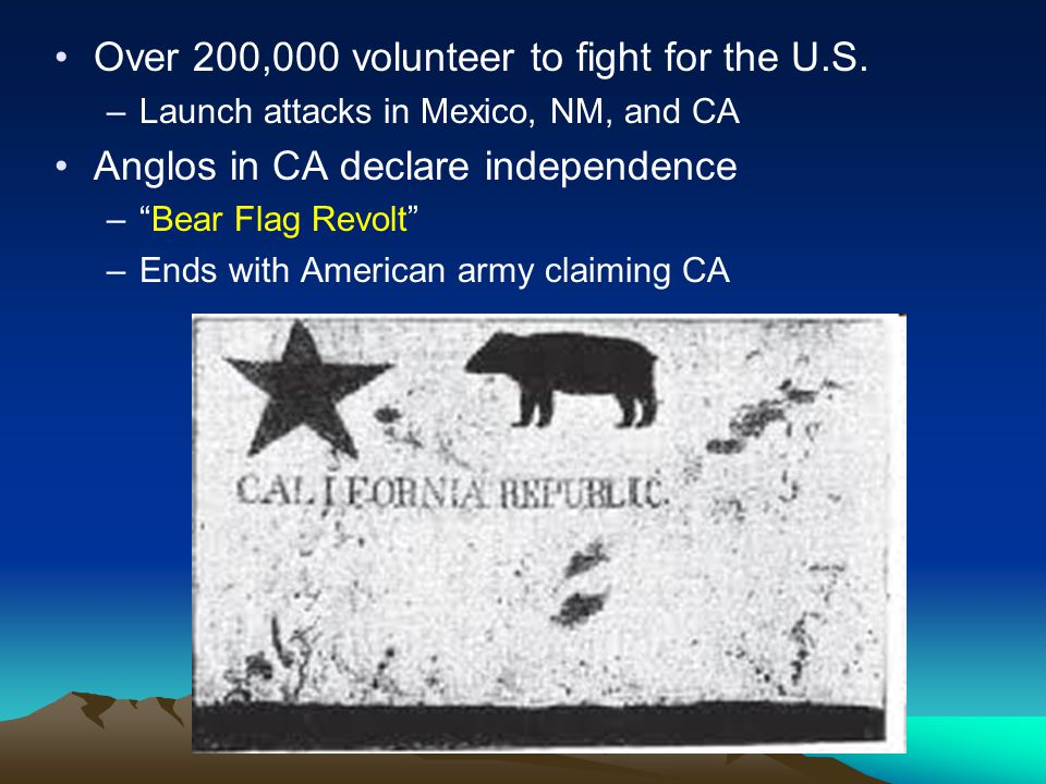 Over 200,000 volunteer to fight for the U.S.
