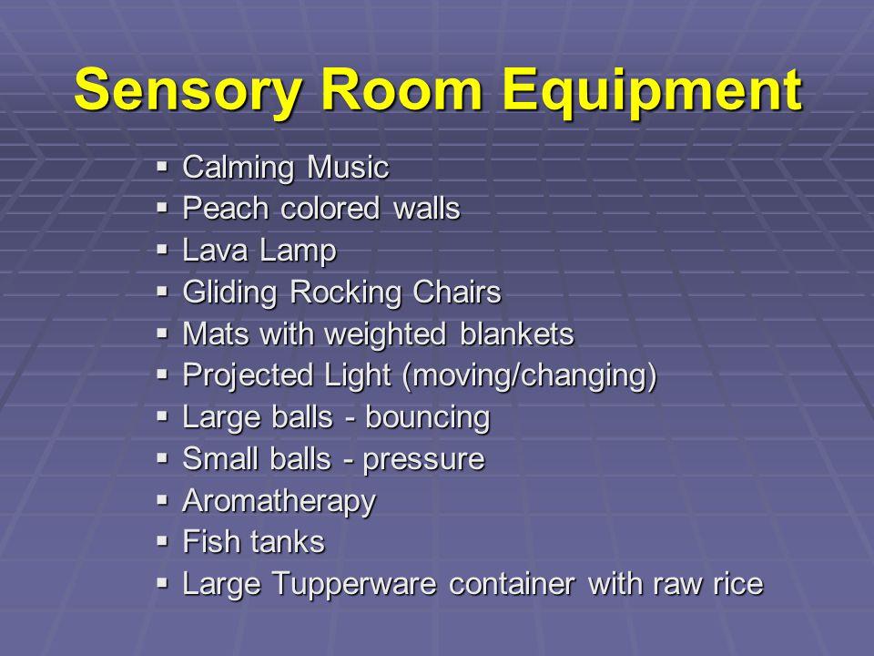 Sensory Room Equipment