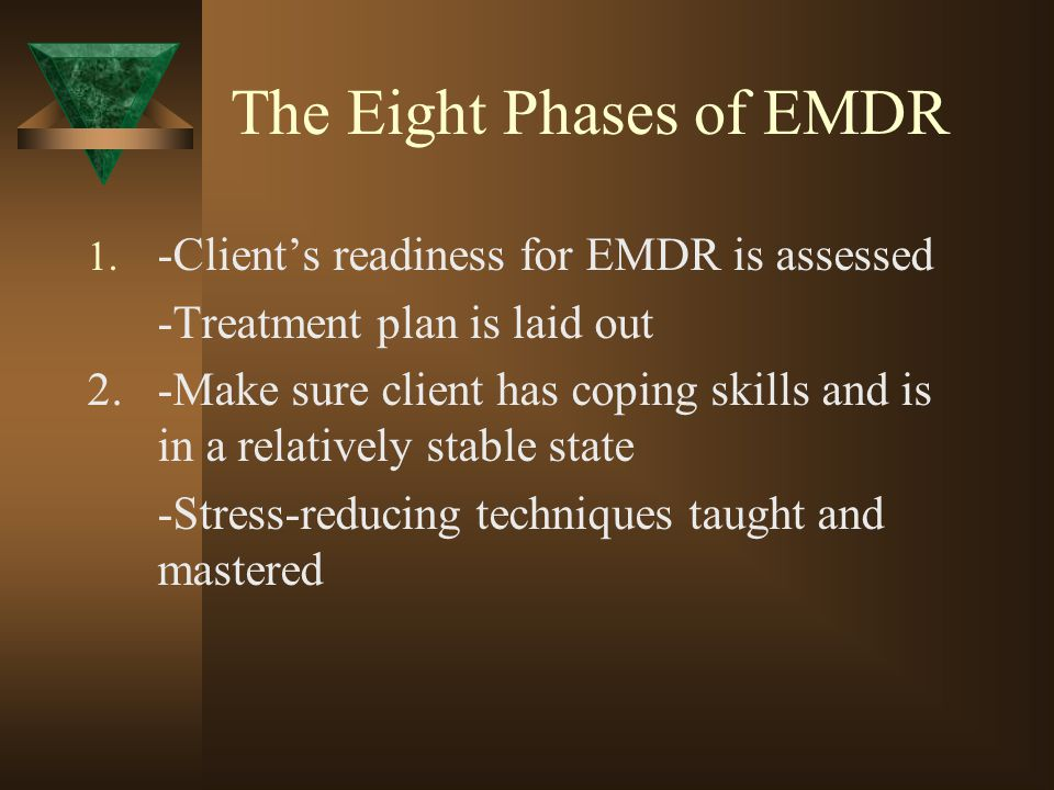 The Eight Phases of EMDR