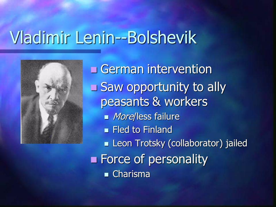 Vladimir Lenin--Bolshevik