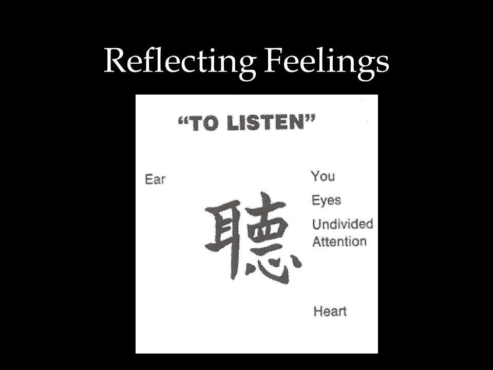 Reflecting Feelings