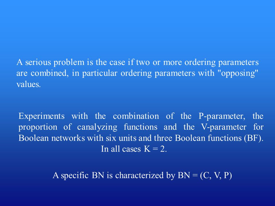 A specific BN is characterized by BN = (C, V, P)