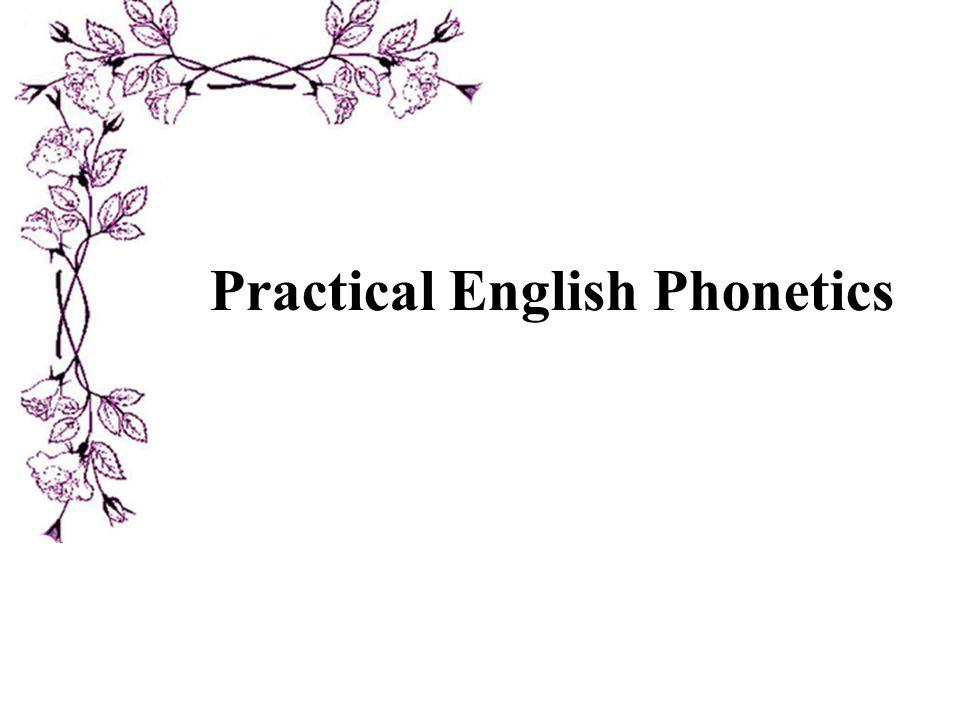 Practical English Phonetics