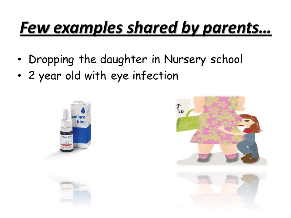 Few examples shared by parents…