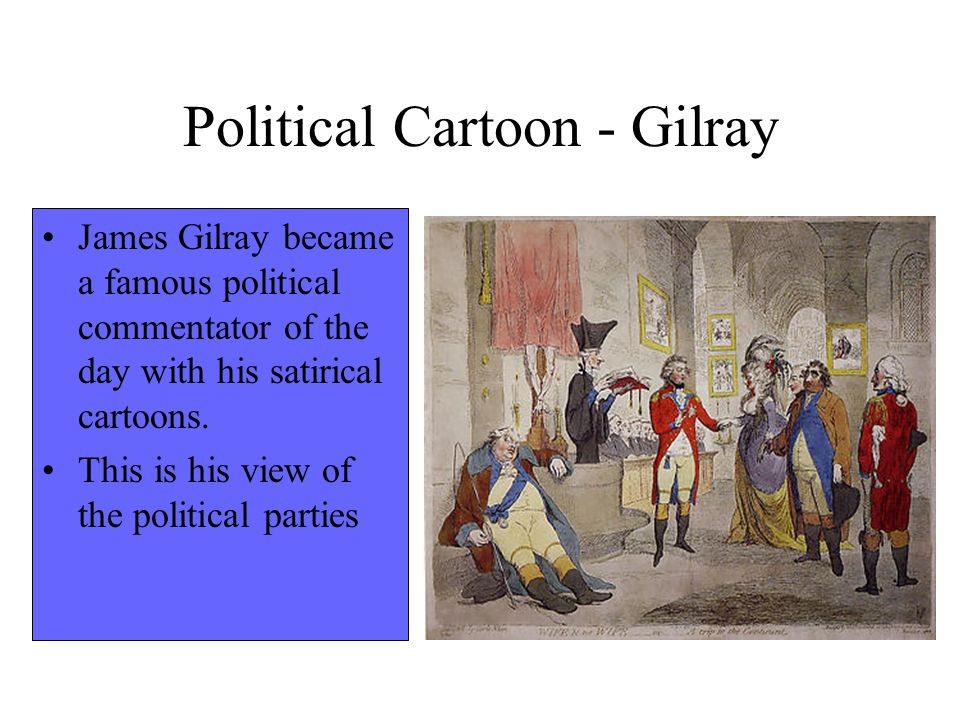 Political Cartoon - Gilray
