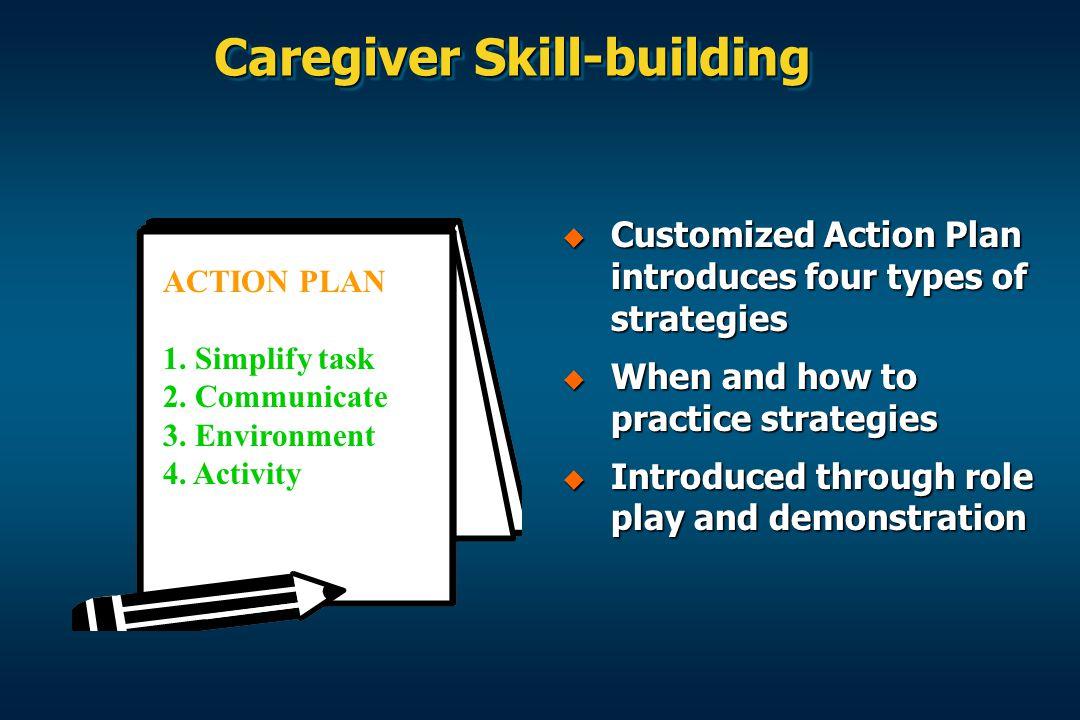 Caregiver Skill-building