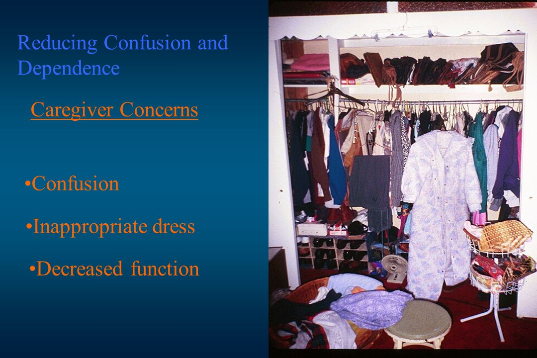 Reducing Confusion and Dependence
