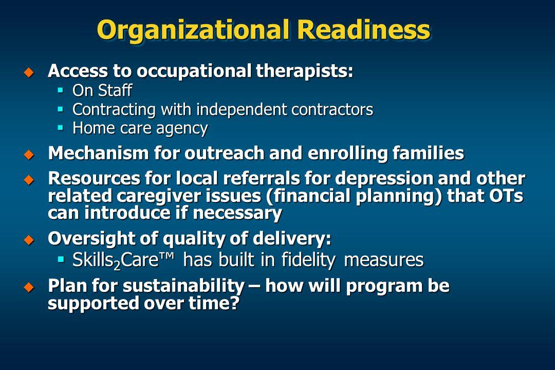 Organizational Readiness