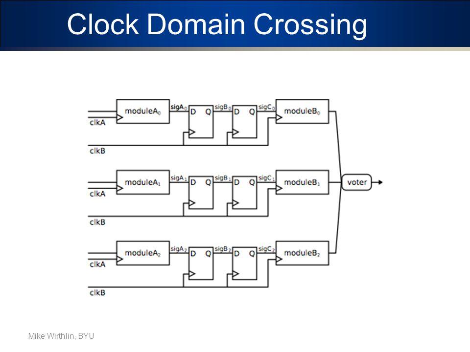 Clock Domain Crossing Mike Wirthlin, BYU