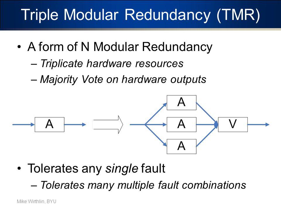 Triple Modular Redundancy (TMR)