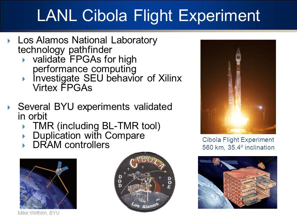 LANL Cibola Flight Experiment