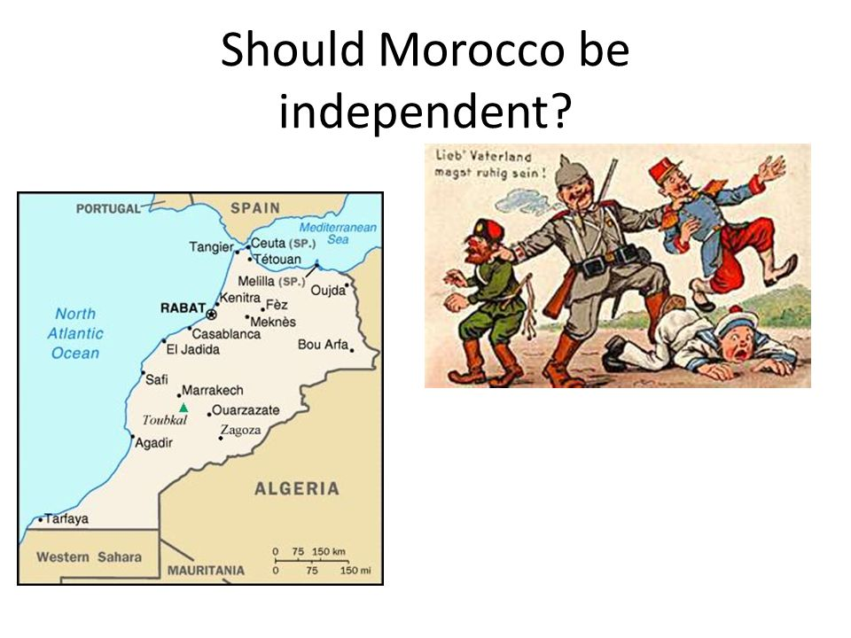 Should Morocco be independent