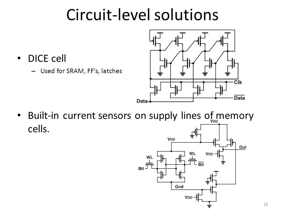 Circuit-level solutions