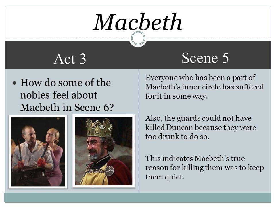 Macbeth Scene 5. Act 3.