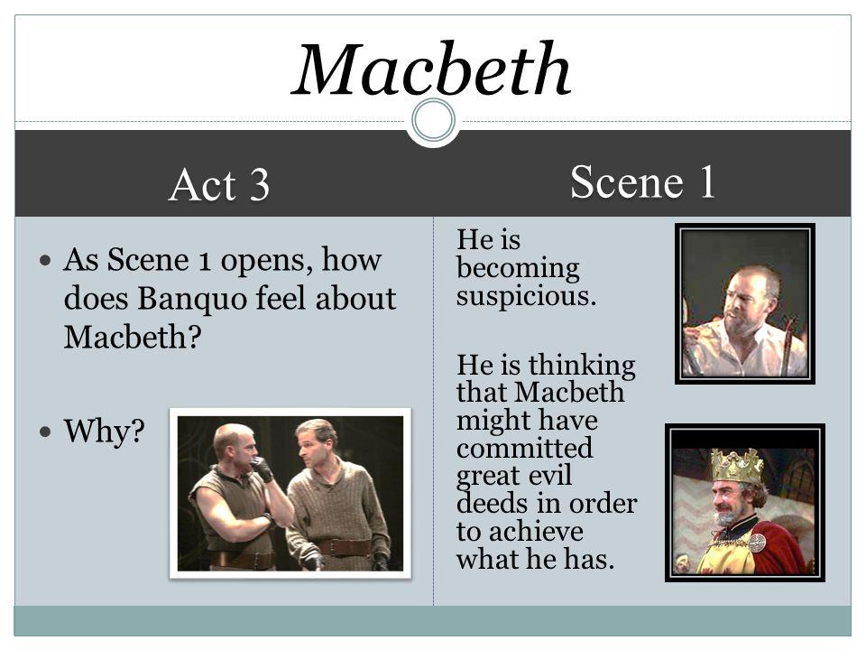Macbeth Scene 1. Act 3.