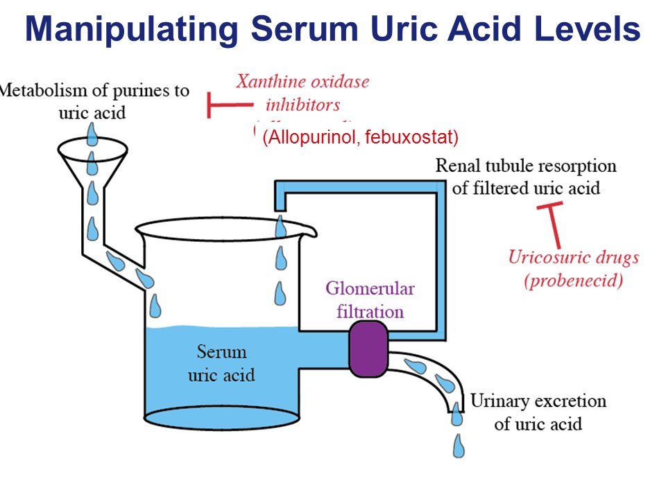 Manipulating Serum Uric Acid Levels