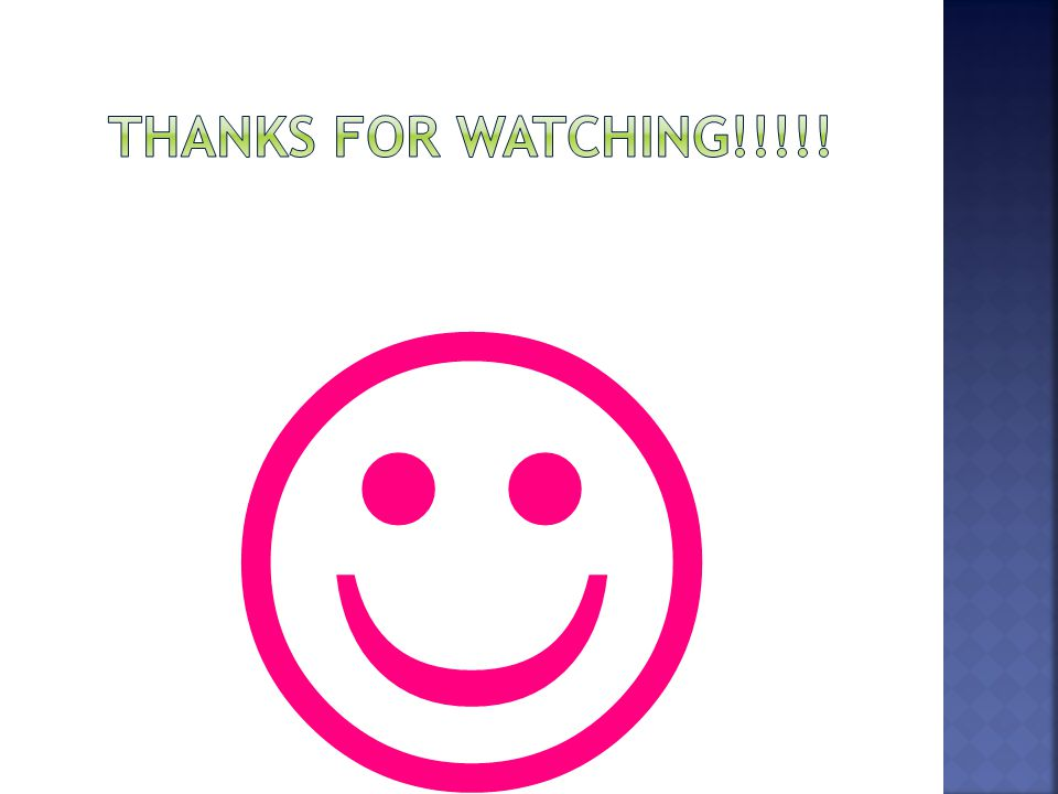 Thanks for watching!!!!! 