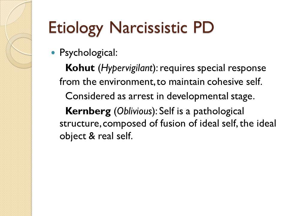 Etiology Narcissistic PD