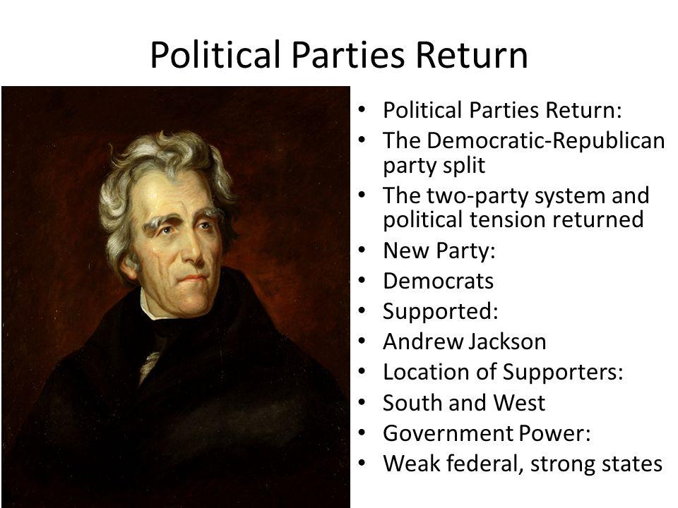 Political Parties Return
