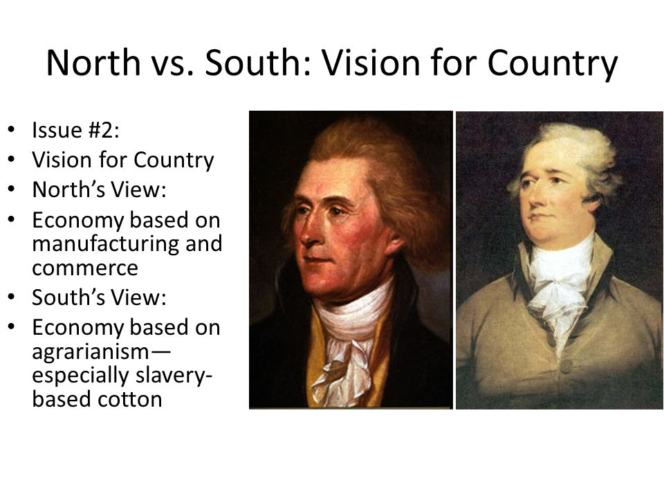 North vs. South: Vision for Country