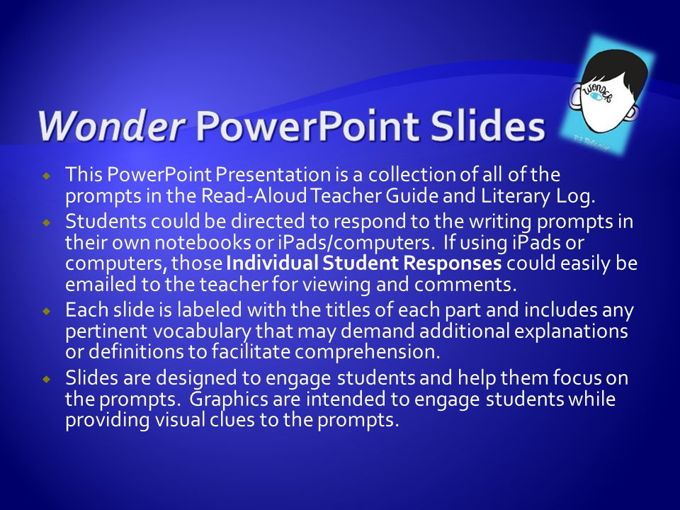 Wonder PowerPoint Slides