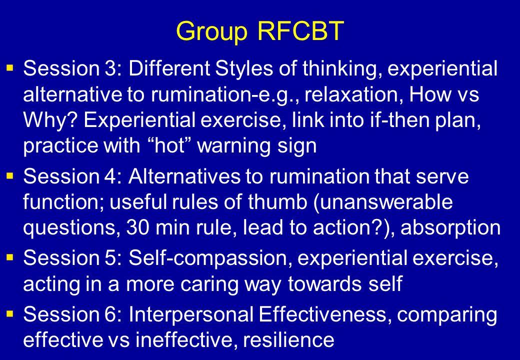Group RFCBT