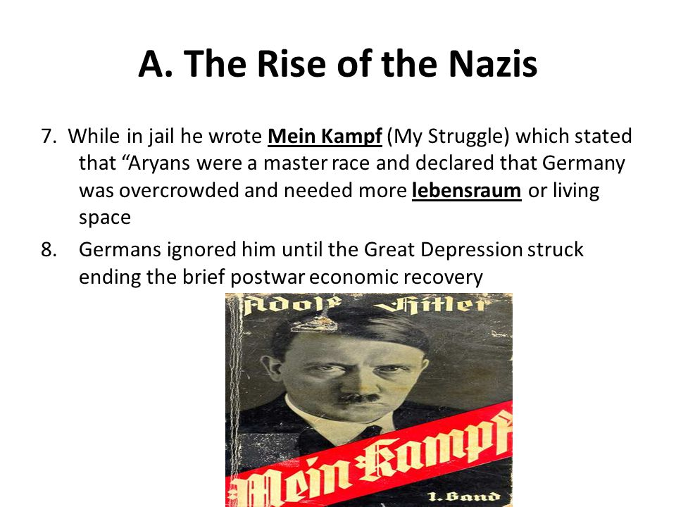 A. The Rise of the Nazis