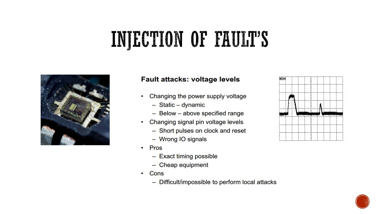 Injection of FAULT's