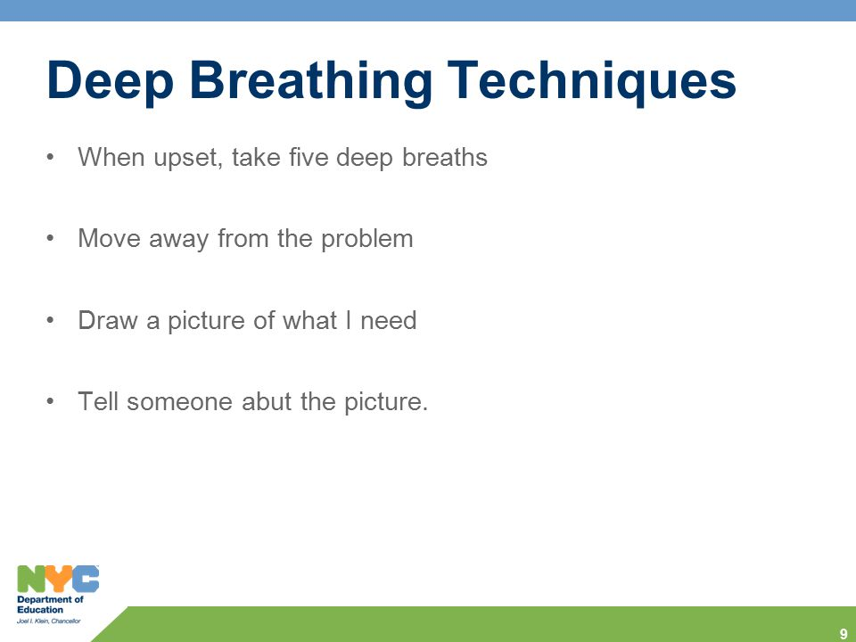 Deep Breathing Techniques
