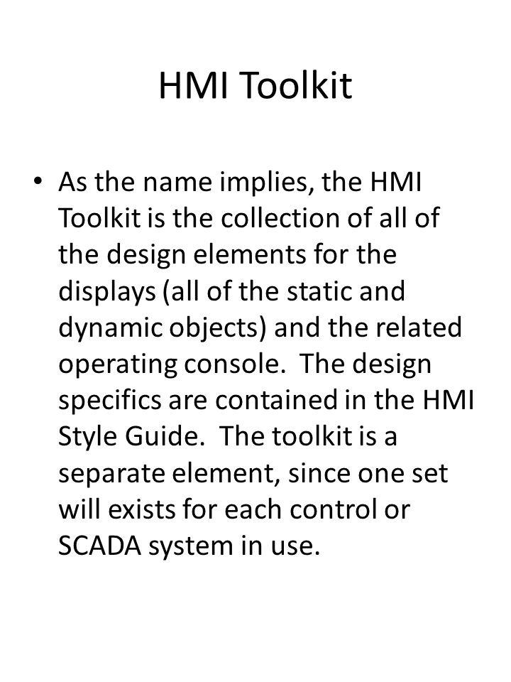 HMI Toolkit