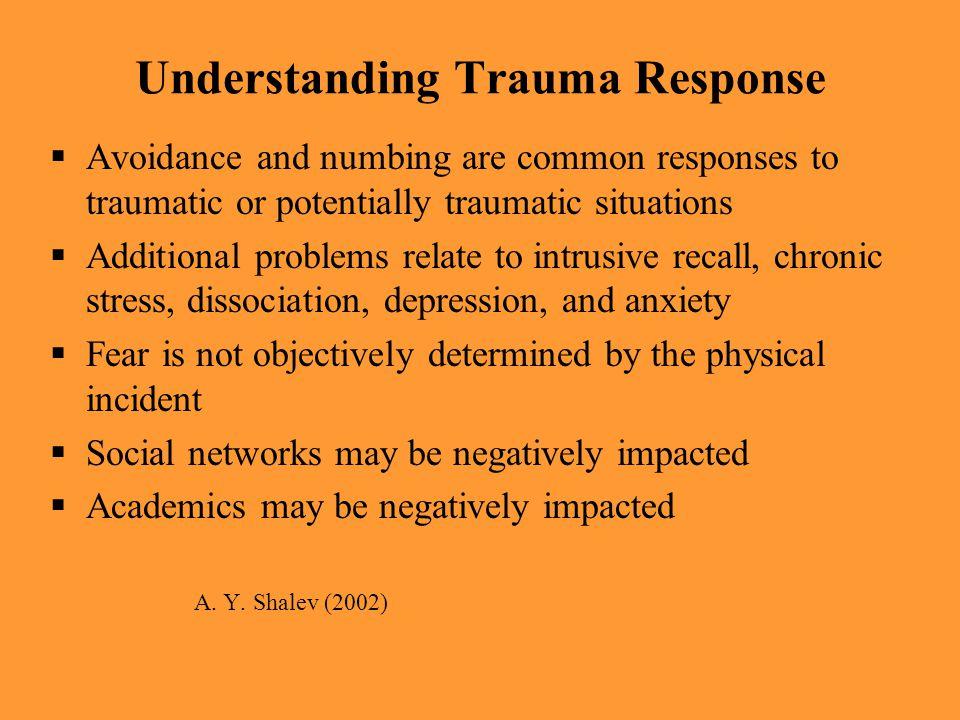 Understanding Trauma Response