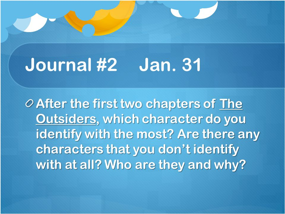 Journal #2 Jan. 31