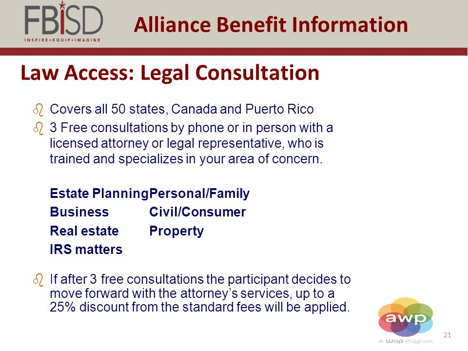 Law Access: Legal Consultation
