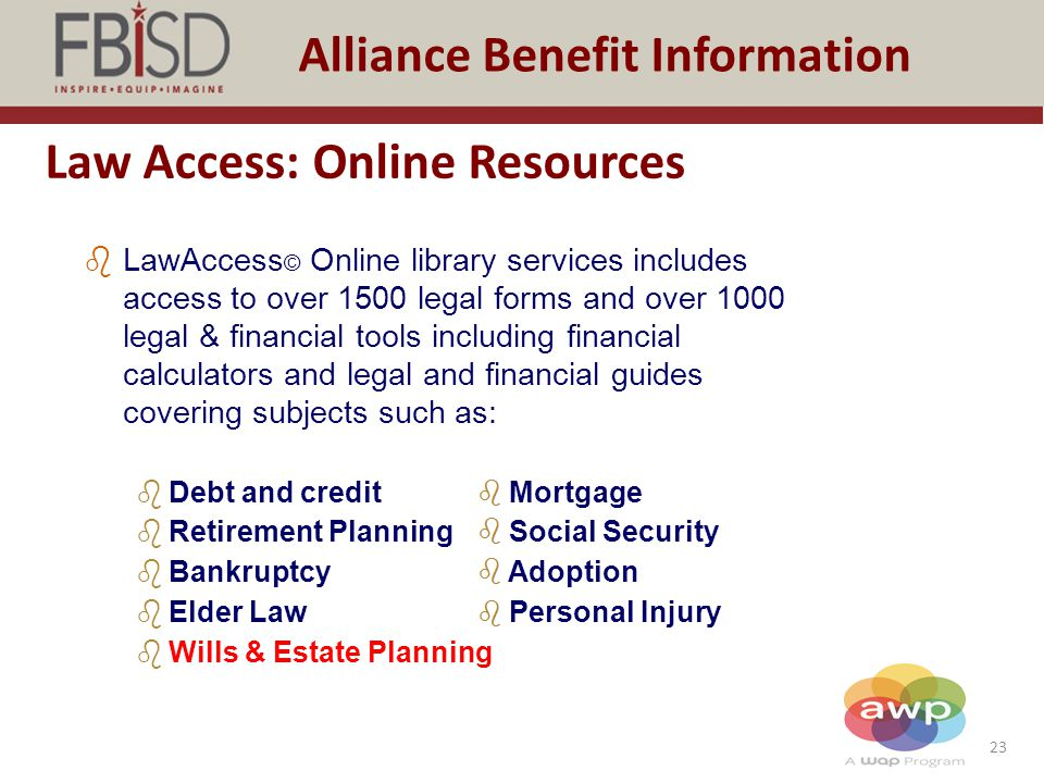 Law Access: Online Resources