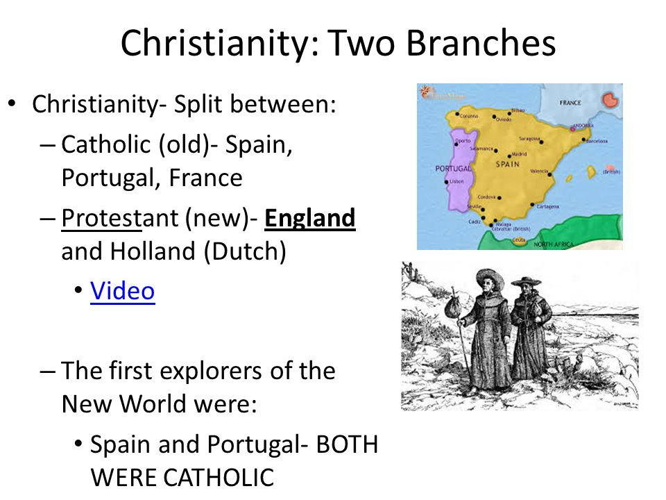 Christianity: Two Branches