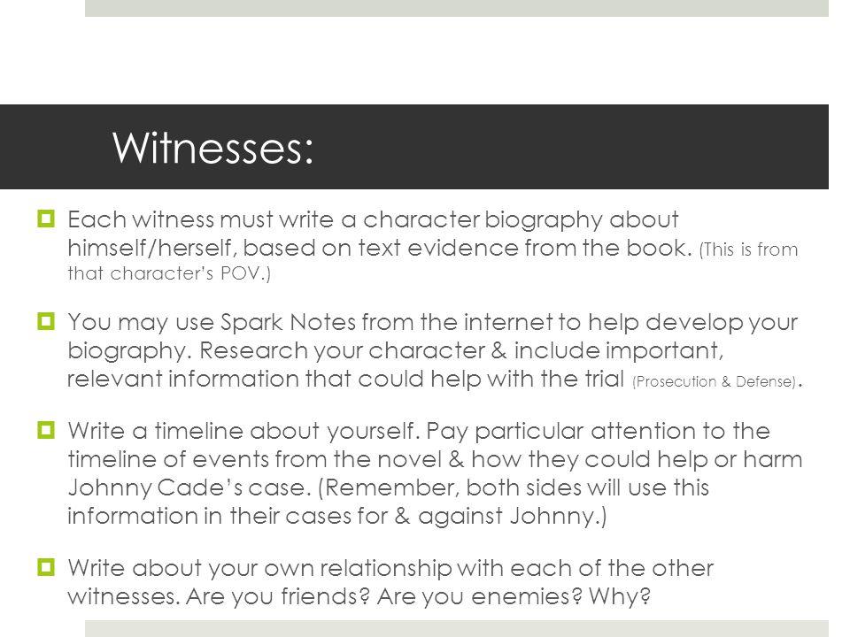 Witnesses: